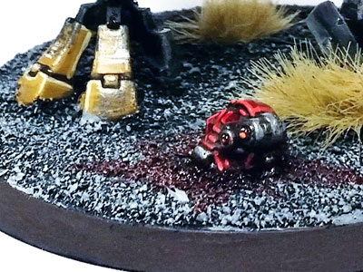 Deathahmmer40k Warhammer 40,000 Tau Empire Commander Base