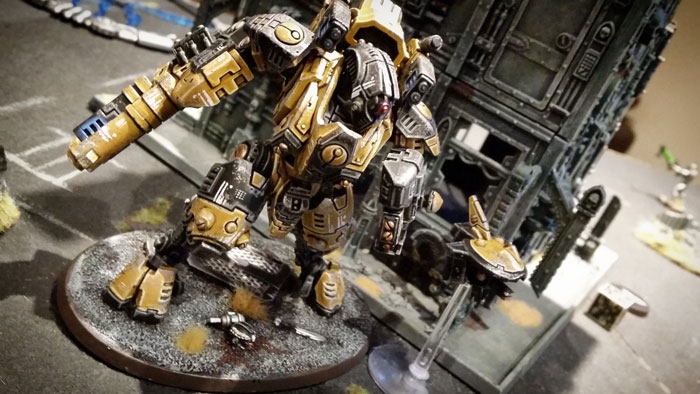 Deathhammer40k Warhammer 40,000 Commission Painted and Built Wargaming Miniatures Tau Ghostkeel