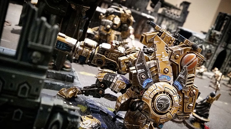 Deathhammer40k Warhammer 40,000 Wargaming Commission Painted Miniatures Tau Empire Riptide
