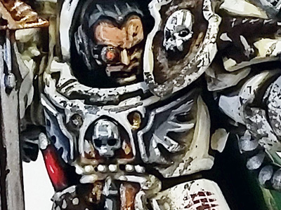 Deathhammer40k Warhammer 40,000 Commission Painted and Built Wargaming Miniatures Deathwing Sergeant