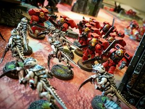 Deathhammer40k Warhammer 40,000 Games Workshop City Ruin Batlle Mat Review Tyranids vs Blood Angels 12