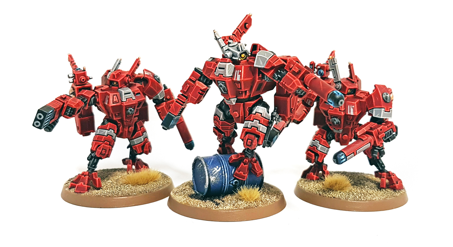 Deathhammer40k Warhammer 40,000 Commissions and Testimonials Tau Empire Project 1