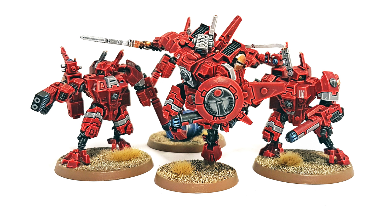 Deathhammer40k Warhammer 40,000 Commissions and Testimonials Tau Empire Project 2