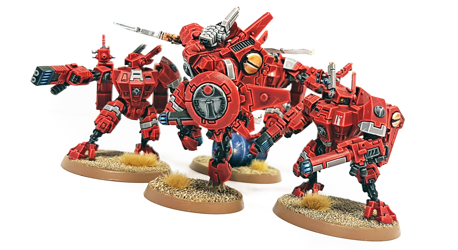 Deathhammer40k Warhammer 40,000 Commissions and Testimonials Tau Empire Project 3