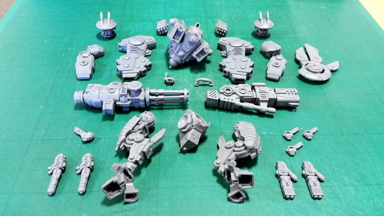 Deathhammer40k Warhammer 40,000 Painted Tau Empire Farsight Enclave Project Riptide 1