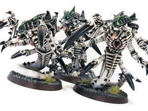 Deathhammer40k Warhammer 40,000 Commission Painted and Built Wargaming Miniatures Tyranid Raveners Blog Post