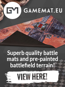 Gamemat.eu Professional Quality Battle Mats and Pre-Painted Terrain