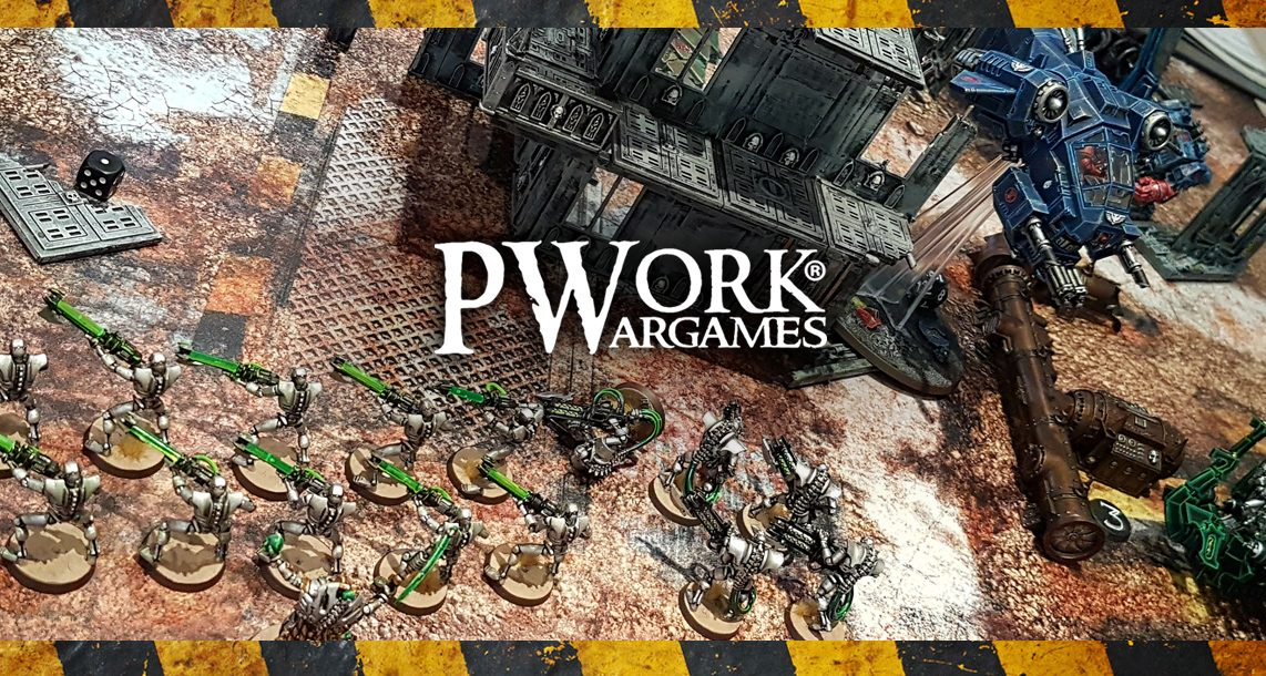 Deathhammer40k Warhammer 40,000 Commission Painted and Built Wargaming Miniatures PWork Wargames Industrial Ruins Battle Mat Header