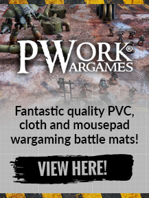 PWork Wargaming Fantastic quality PVC, cloth and mousepad wargaming battle mats available in a whole range of sizes!