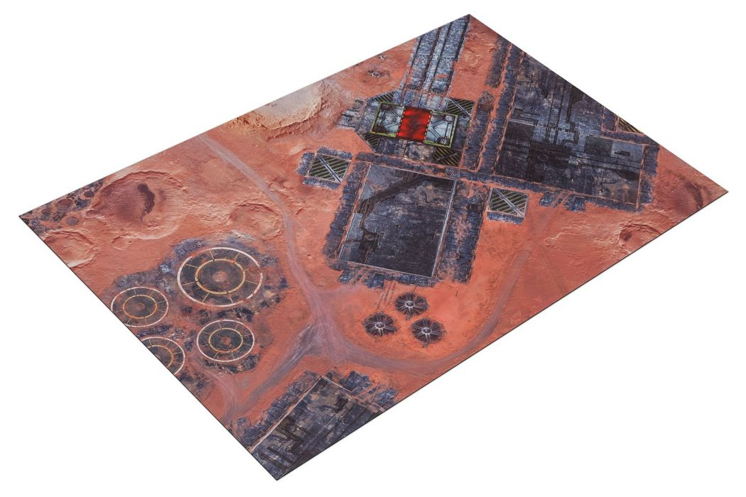 Deathhammer40k Warhammer 40,000 Commission Painted and Built Wargaming Miniatures Gamemat.eu Forges of Mars battle mat and scenery